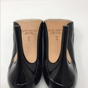 kate spade Shoes - Kate Spade Black 3 inch Leather Heel